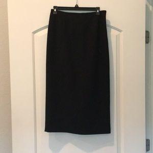 Classy Black Pencil Skirt